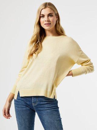 Světle žlutý svetr Dorothy Perkins