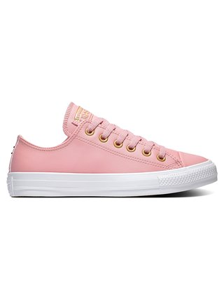 Converse růžové tenisky kožené Chuck Taylor All Star