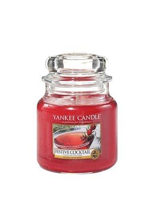 Yankee Candle vonná svíčka Festive Cocktail Classic střední