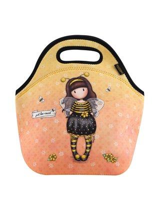 Santoro žlutá neoprenová taška Gorjuss Bee-Loved (Just Bee-Cause)