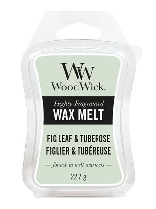 WoodWick vonný vosk do aroma lampy Fig Leaf & Tuberose