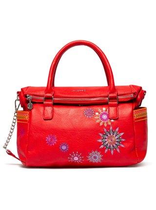 Desigual červená kabelka Bols Ada Loverty