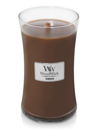 WoodWick vonná svíčka Humidor velká váza