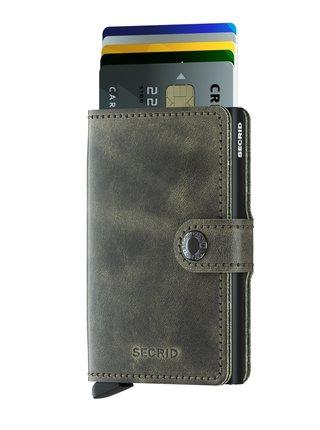 Secrid speciální kožená peněženka Mini Wallet Vintage Olive