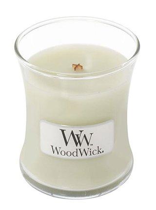 WoodWick vonná svíčka Fig Leaf & Tuberose malá váza