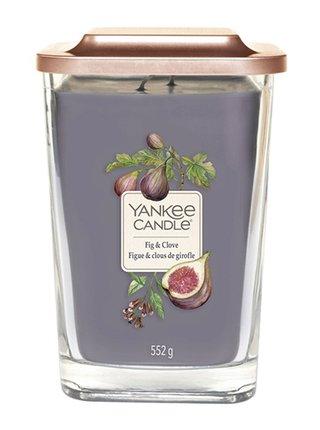 Yankee Candle vonná svíčka Elevation Fig & Clove hranatá velká 2 knoty