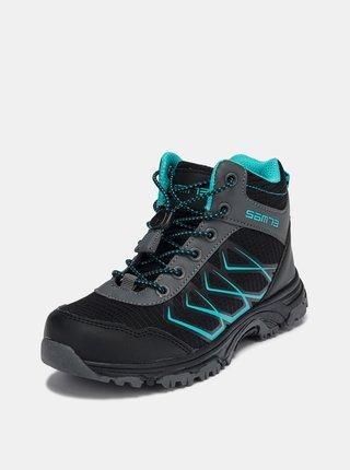 Čierne detské topánky SAM 73