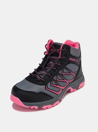 Čierne dievčenské topánky SAM 73