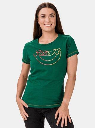 Zelené dámské tričko SAM 73