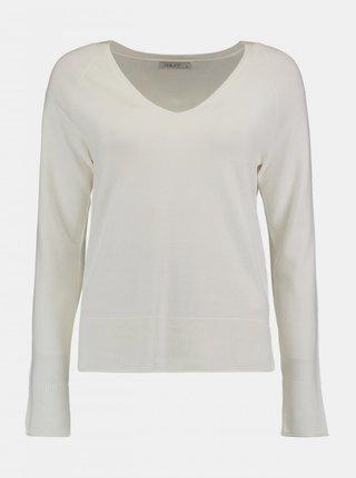 Bílý dámský lehký svetr Haily´s