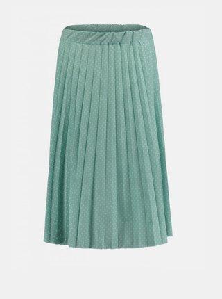 Modrá plisovaná sukně Haily´s