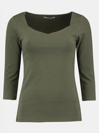 Khaki dámské tričko Haily´s