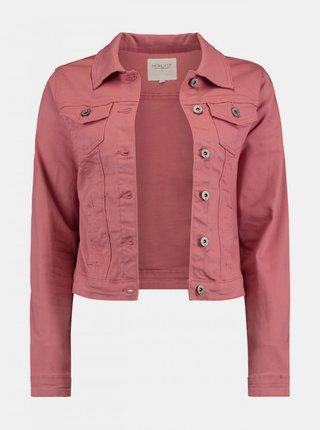 Růžová džínová bunda Haily´s