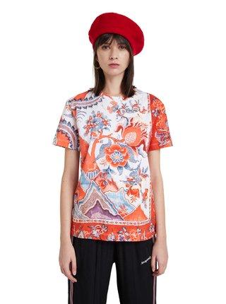 Desigual barevné tričko TS Selmaris