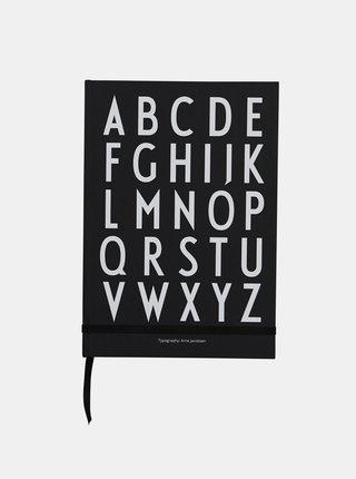 Černý zápisník Design Letters