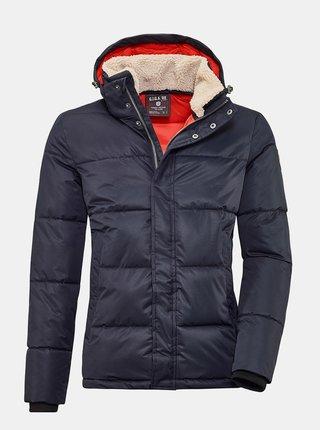 Tmavomodrá pánska zimná prešívaná bunda killtec