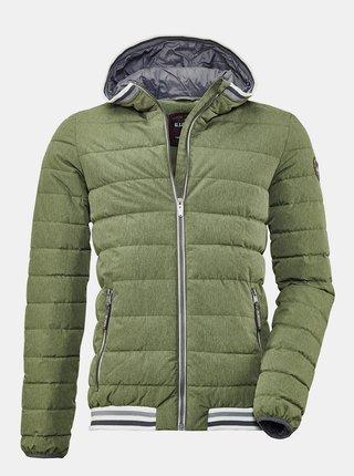 Zelená pánská zimní prošívaná bunda killtec