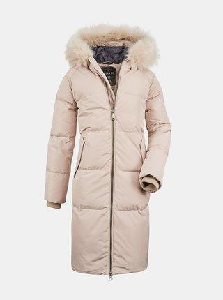 Béžový dámský prošívaný kabát killtec