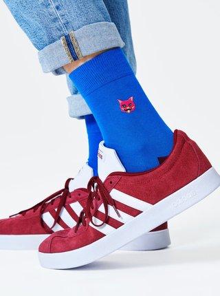 Modré ponožky Happy Socks Cat