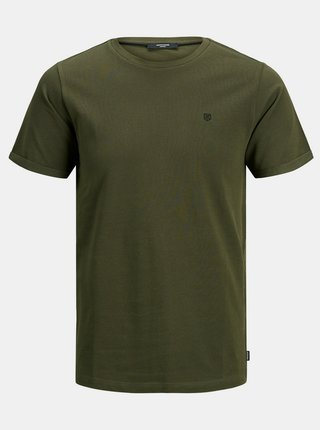 Tricouri pentru barbati Jack & Jones - kaki