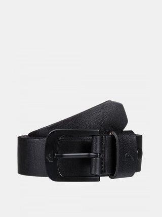 Černý kožený pásek Quiksilver
