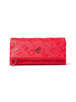 Desigual červená peněženka Mone Colorama Rocio