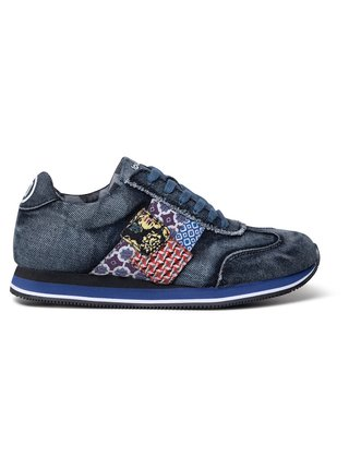 Desigual denimové tenisky Shoes Pegaso Patch