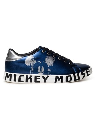 Desigual modré tenisky Shoes Cosmic Mickey