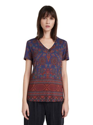 Desigual modré tričko TS Benin