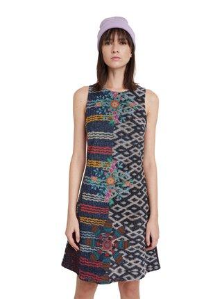 Desigual barevné šaty Vest Gala