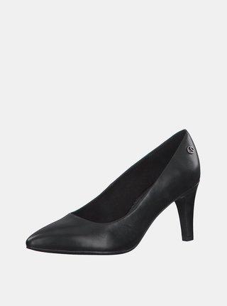 Pantofi cu toc pentru femei s.Oliver - negru