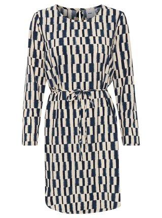 Ichi béžovo-modré šaty Ihcass