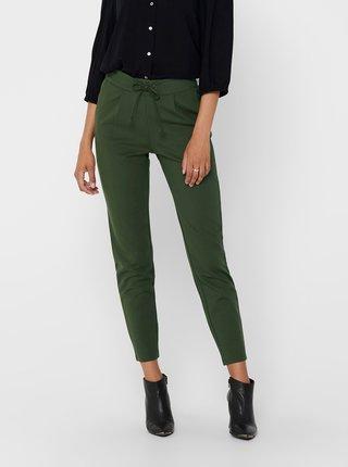 Zelené kalhoty Jacqueline de Yong Pretty