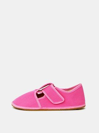 Ružové dievčenské papuče 3F