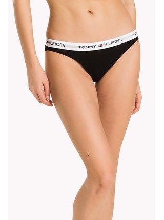 Tommy Hilfiger černé kalhotky Bikini Iconic Basic
