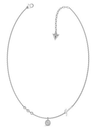 Guess stříbrný náhrdelník Guess Miniature