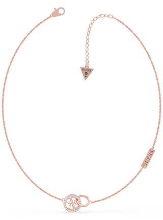 Guess zlatý náhrdelník Equilibre
