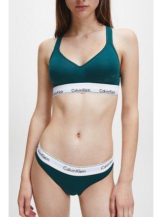 Calvin Klein petrolejová podprsenka Lift Bralette