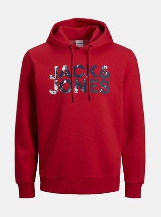 Červená mikina Jack & Jones Splash