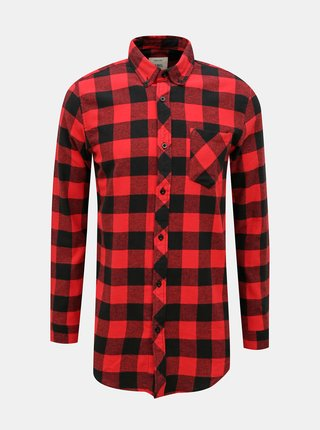 Červená kockovaná košeľa Redefined Rebel