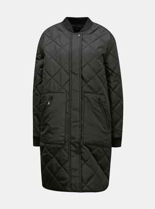 Čierny prešívaný kabát Selected Femme Natalia