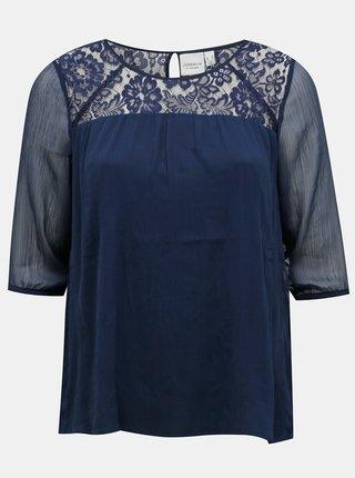 Marimi curvy pentru femei JUNAROSE - albastru