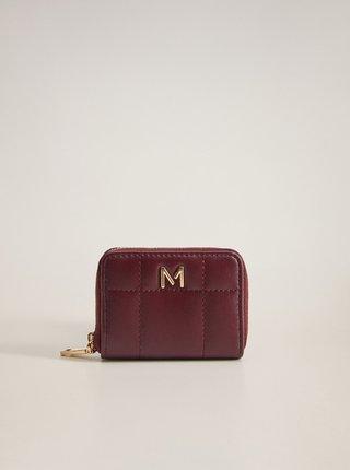 Dámská vínová peněženka Mango