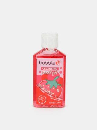 Antibakteriálny gél na ruky (70% alkoholu) Bubble T Cosmetics Strawberry 50 ml