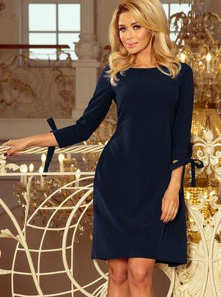 Tmavě modré šaty numoco
