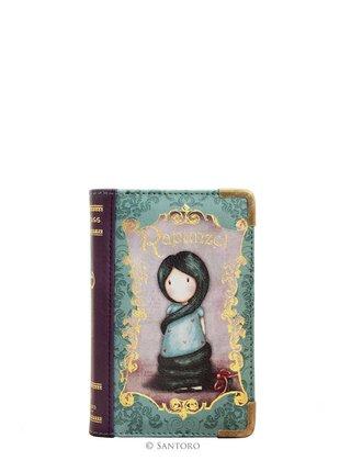 Santoro peněženka Rapunzel ve tvaru knihy