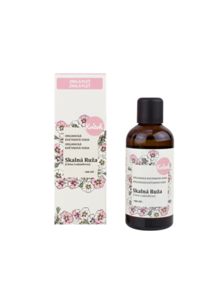 Kvitok / Navia Kvitok Květová voda Skalní růže Bio 100 ml