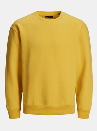 Žltá basic mikina Jack & Jones Soft