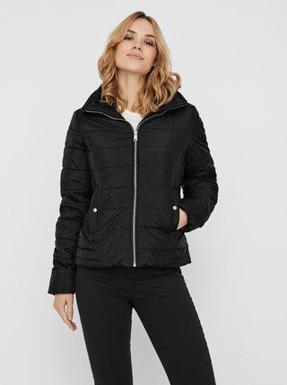 Černá prošívaná zimní bunda VERO MODA Clarisa