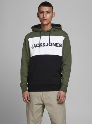 Zelená mikina Jack & Jones Logo